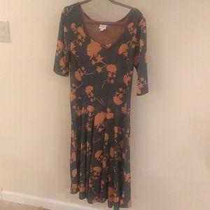 LuLaRoe Dresses - Like-new Plus-size 2XL Lularoe Nicole dress